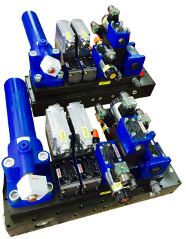 CONTROL MANIFOLD FOR INDUSTRIAL PRESS