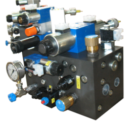 MANIFOLD FOR PRESS HANDLING