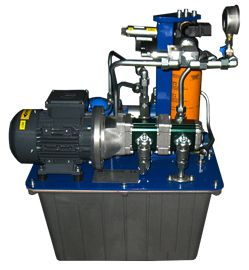 HYDRAULIC FLUSHING POWERPACK FOR FOOD INDUSTRY